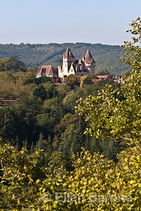 Les Milandes, former home of the late American performer Josephine Baker, Dordogne River valley, France.