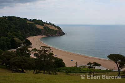 Blackpool Sands beach,  Devon, England, U.K.