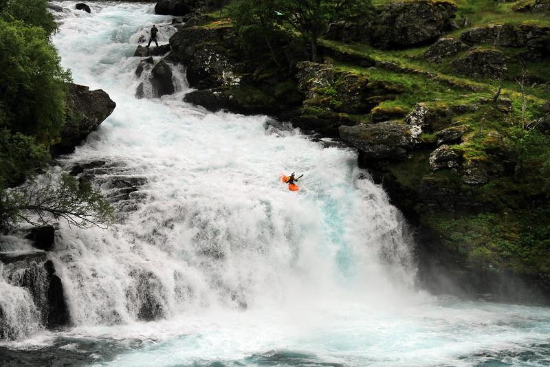 Ben Brown, Flåm waterfall, Norway