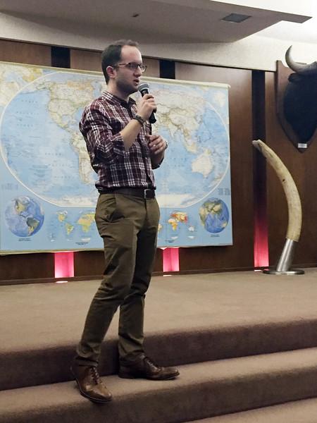 Andrew Carmona presentation.<br /> February 25, 2016