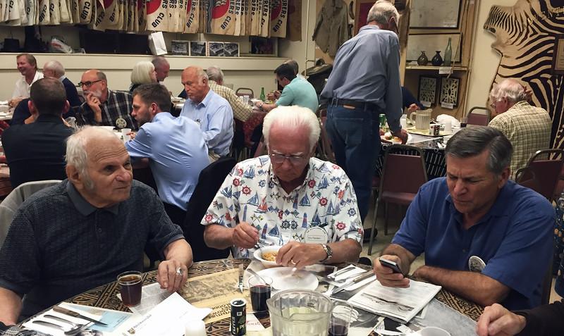 "Bob Silver, Eric Flanders, Bob Oberto<br /> Kevin Lee presentation, ""Diving the Seven Continents""<br /> February 11, 2016"