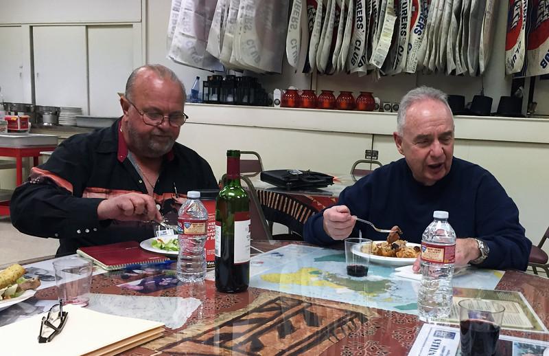 Steve Hodel presentation night, Scott Warner & Martin Bloom