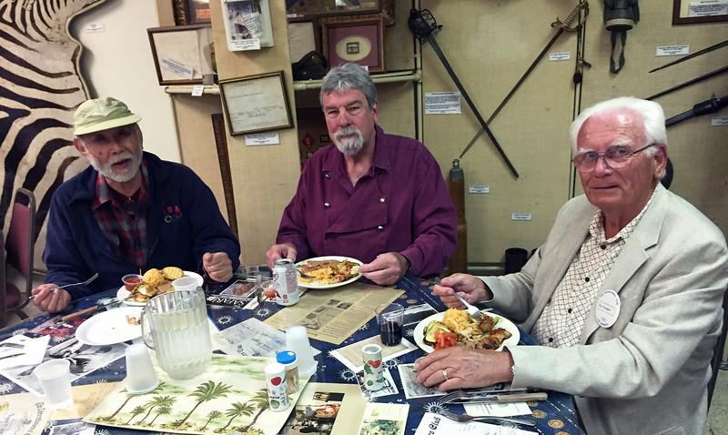 Dave, Jim & Eric<br /> Michael Bozrath presentation<br /> May 5, 2016