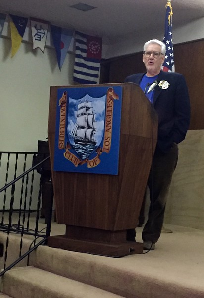 """Pierre Odier, VP and Program Director ACLA<br /> """"Honoring Paul MacCready"""" presentation<br /> May 12, 2016"""