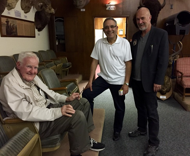 Roger, Rick & Stew<br /> Chuck Brill presentation<br /> June 16, 2016