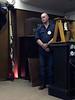 Dan Brown, ringing the bell for his father OTGA<br /> Bradley Grant presentation<br /> June 9, 2106