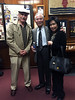 """""""Mustang"""" Bob Sotelo with Hoi Tran & wife<br /> March 10, 2016"""