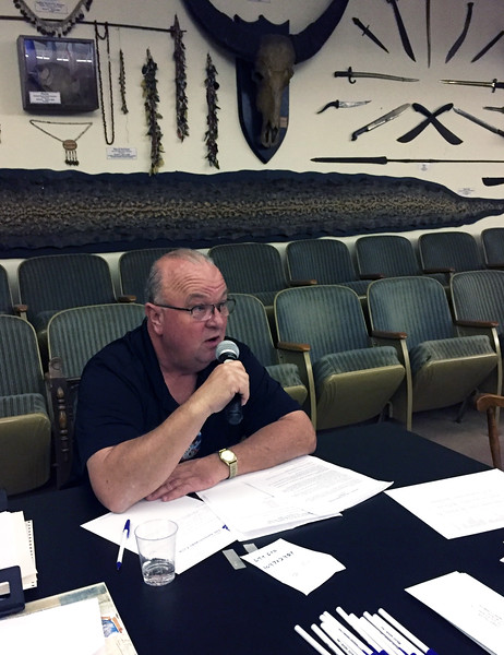 Scott Warner<br /> Business meeting.<br /> November 3, 2016