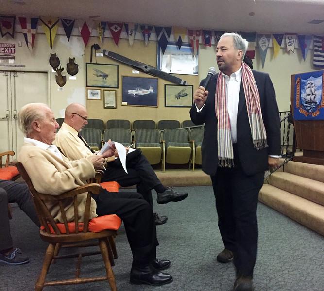 Jeff Holmes<br /> Business meeting.<br /> November 3, 2016