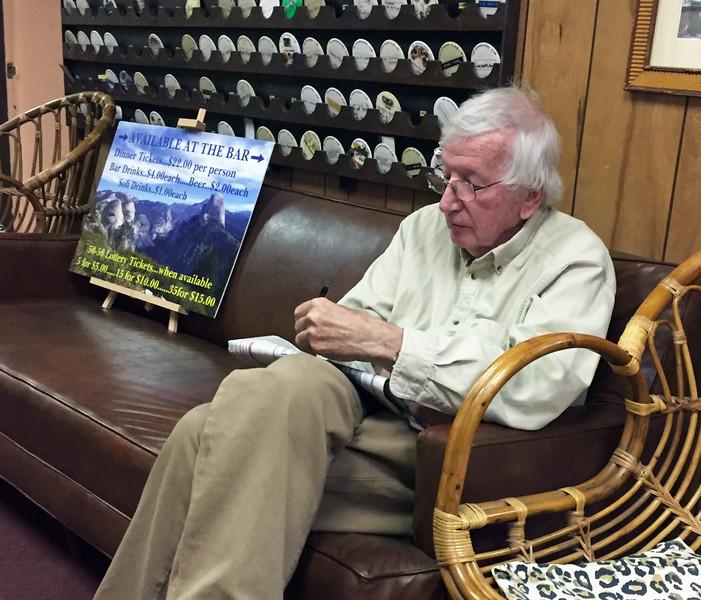 Bob Walters<br /> Business meeting.<br /> November 3, 2016