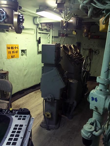 Battleship USS Iowa.<br /> November 2016  board meeting venue.