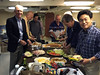 Dinner aboard the Battleship USS Iowa, Wardroom<br /> Photo: Rich Abele