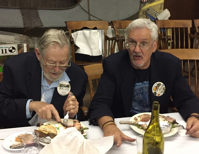 Bernie Harris & Pierre Odier