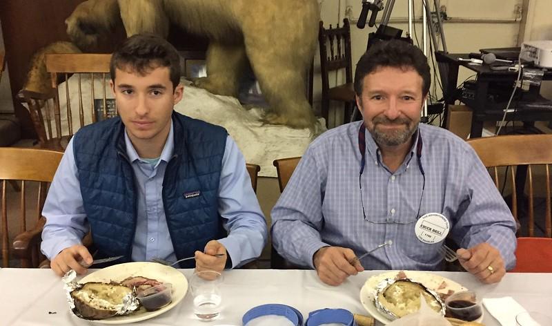 Chuck Brill & son