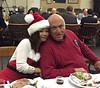 Santa's helper, Jaszlyn & Bob Zeman