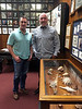 "Stephen & Vic Smith, with ""Michael Smith Shell Exhibit"".<br /> Kevin Lee presentation, ""Diving the Seven Continents""<br /> February 11, 2016"