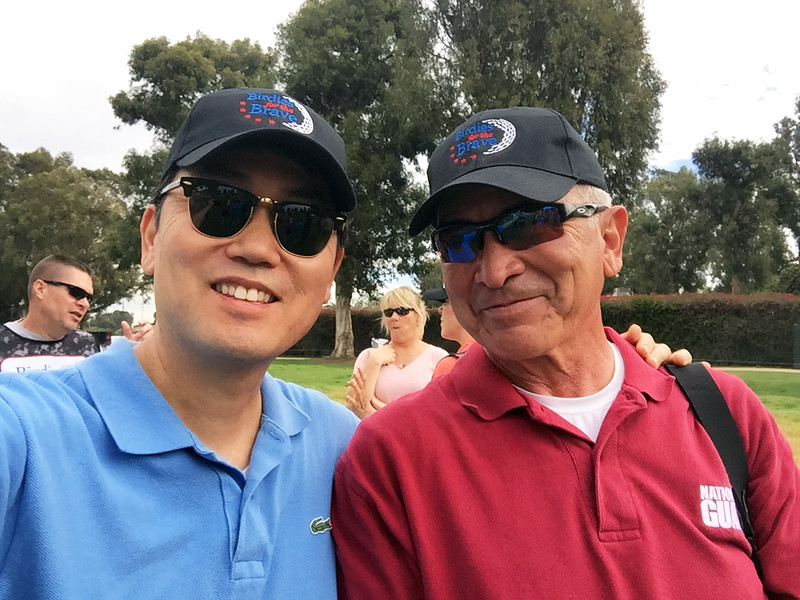 Kevin Lee & Gene Arias<br /> Northern Trust Open, Riviera Country Club<br /> Febrrary 17, 2016