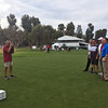 Gene at work<br /> Northern Trust Open, Riviera Country Club<br /> February 17, 2016