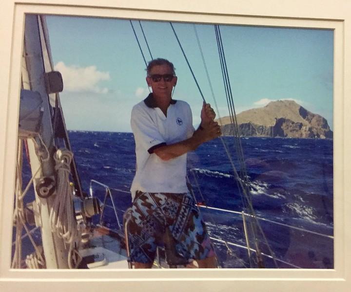 "Michael Lawler, aboard ""Traveler"", conquers Santa Maria de Redonda Isle on January 29, 2010, becoming the Seventh King of Redonda."