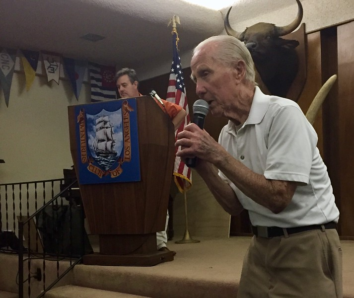 Sid Halburn, WWII veteran, describes his many celebrity encounters, including Jack Lalanne and the Little Rascals.