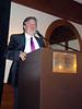 Eric Streit, president presides
