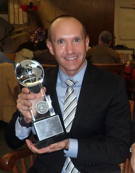 Marc Weitz, #1144, 2018 Adventurer of the Year recipient