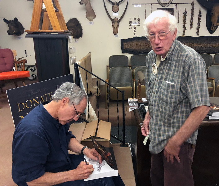Dr. Milton Love & Bob Walters<br /> August 23, 2018