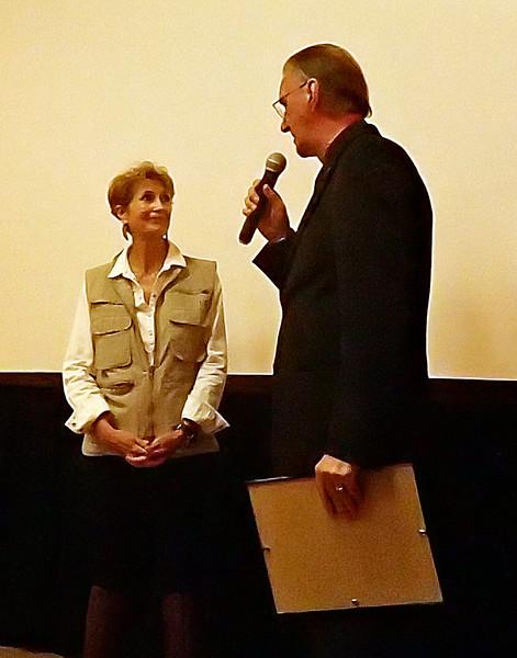 "NOHA speaker, Edie Littlefield Sundy - ""Mission Walker""."