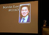 Kevin Lee announces the 2018 Adventurer of the Year Award.
