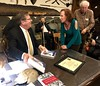 """Colonel Greg Raths, USMC (Ret), autographing his book """"9 Lives of a Fighter Pilot"""".<br /> January 10, 2019"""