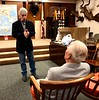 """Mad"" Mike Hughes speaks with WWII veteran, Sid Halburn<br /> Adventurers' Club<br /> February 7, 2019"