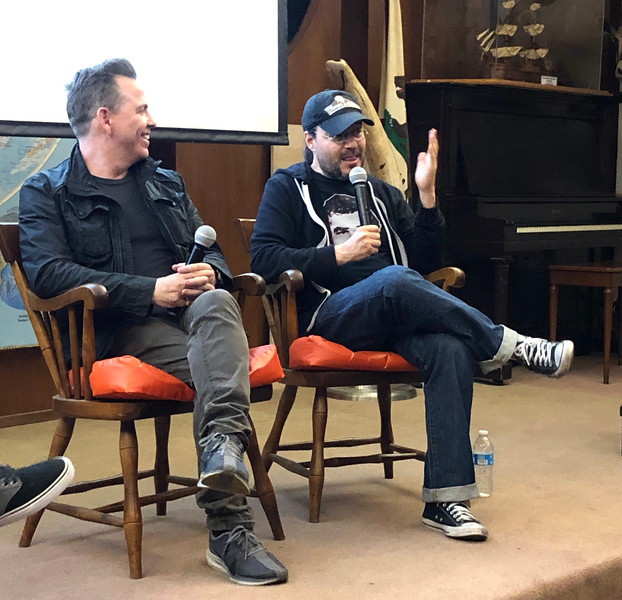 """Neil Mandt, Co-producer, and Adam Rifken, Director<br /> Movie night - """"The Last Movie Star""""<br /> May 11, 2019"""