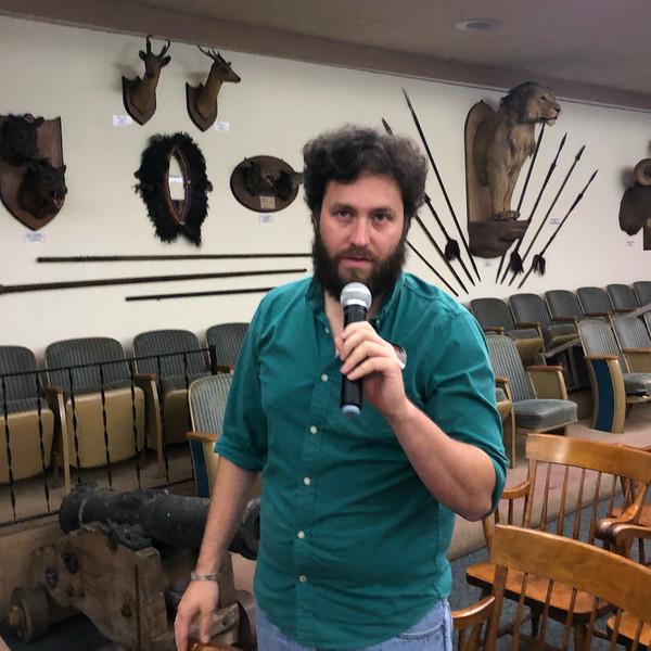Andy Medina, ACLA treasurer