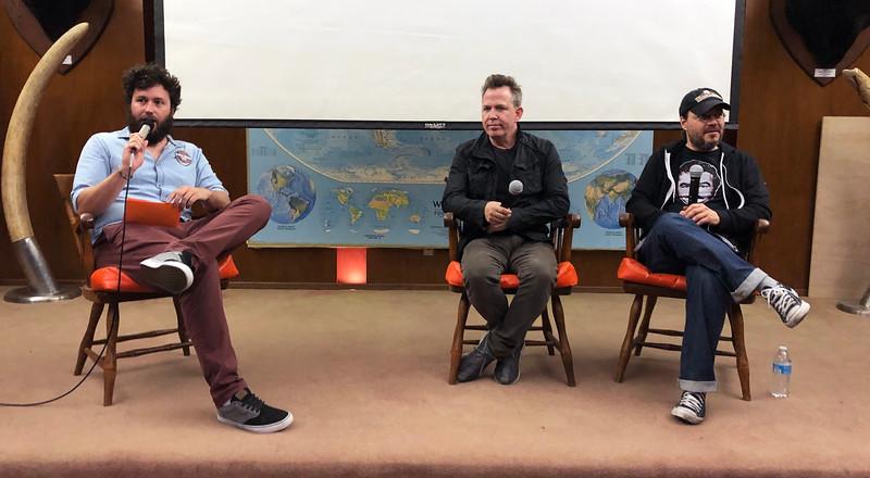 "Andrew Medina, Neil Mandt, Co-producer and Adam Rifken, Director<br /> Movie night - ""The Last Movie Star""<br /> May 11, 2019"