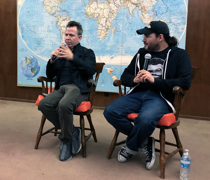 "Neil Mandt, Co-producer, and Adam Rifken, Director<br /> Movie night - ""The Last Movie Star""<br /> May 11, 2019"