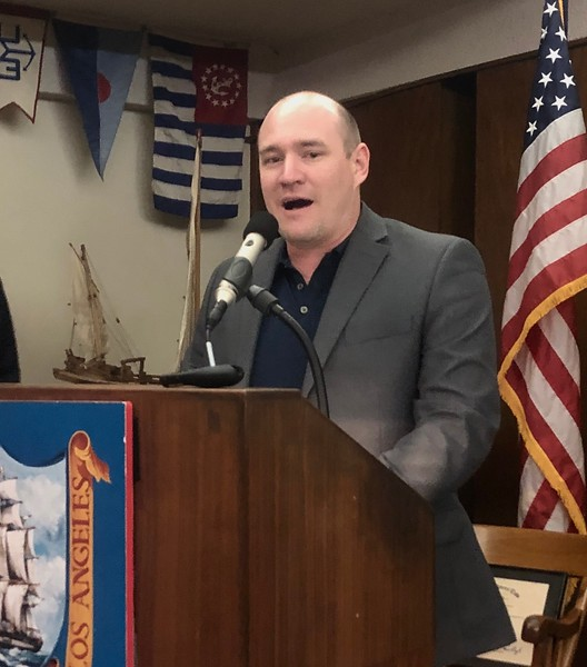 VP, Rich Mayfield updates the club on latest video streaming protocols. <br /> May 30, 2019