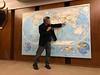 Bob Oberto returns from adventure around the world