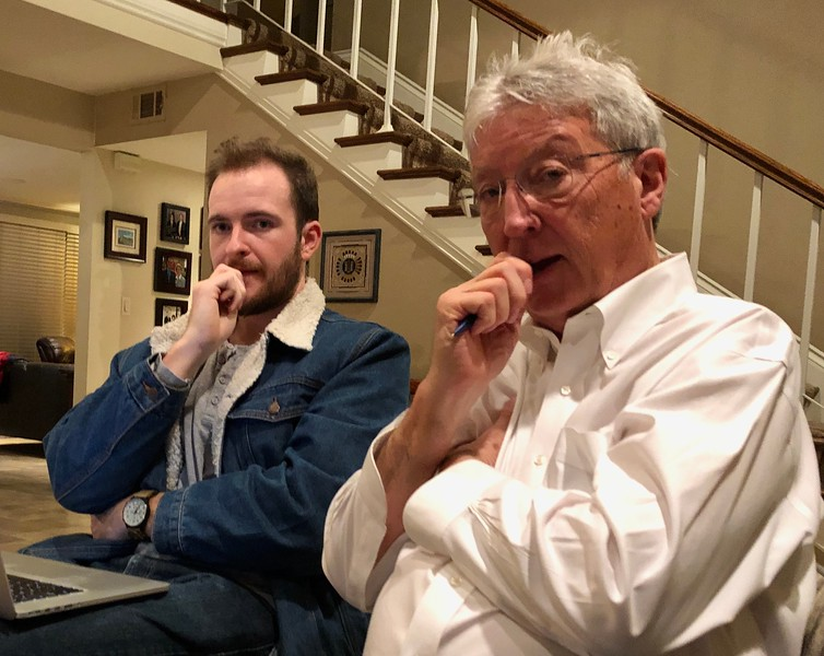 Alec Shumate & David Hayen<br /> November 3, 2019 Board Meeting<br /> Hosted by Larry Stern<br /> Cerritos, California