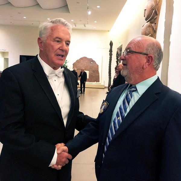 Bob Gannon & Scott Warner<br /> Night of High Adventure<br /> Bowers Museum, November 2, 2019
