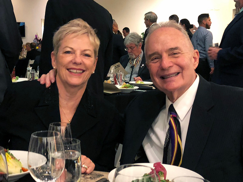 Trish & Martin Bloom<br /> Night of High Adventure<br /> Bowers Museum, November 2, 2019