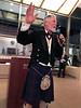 ACLA president Michael Lawler introduces Sid Hallburn<br /> Night of High Adventure<br /> Bowers Museum, November 2, 2019