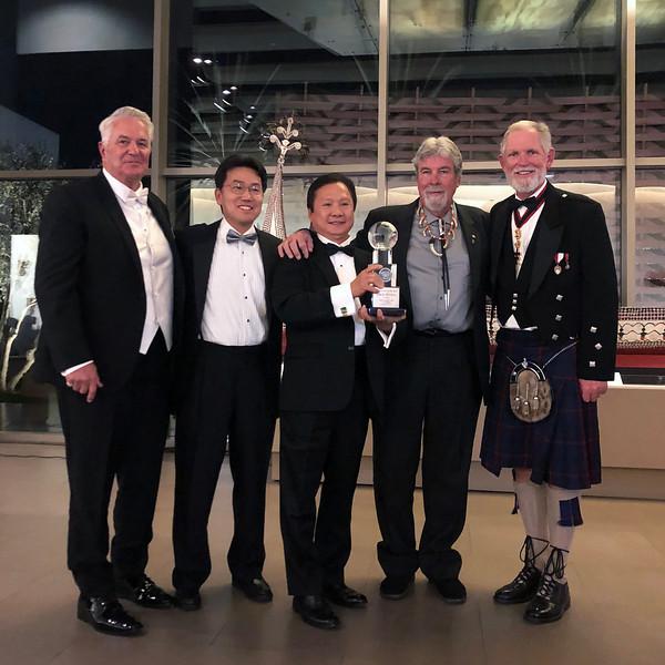 L-R: Bob Gannon, Kevin Lee, Paul Wong, Jim Dorsey, Michael Lawler<br /> NOHA November 2, 2019