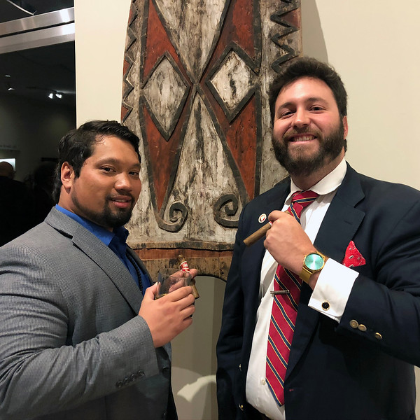 Shiy & Andrew<br /> Night of High Adventure<br /> Bowers Museum, November 2, 2019