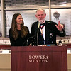 Michael Lawler with Mehgan Heaney-Grier<br /> Night of High Adventure<br /> Bowers Museum, November 2, 2019