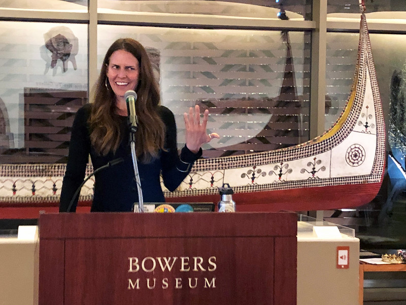 Mehgan Heaney-Grier<br /> Night of High Adventure<br /> Bowers Museum, November 2, 2019