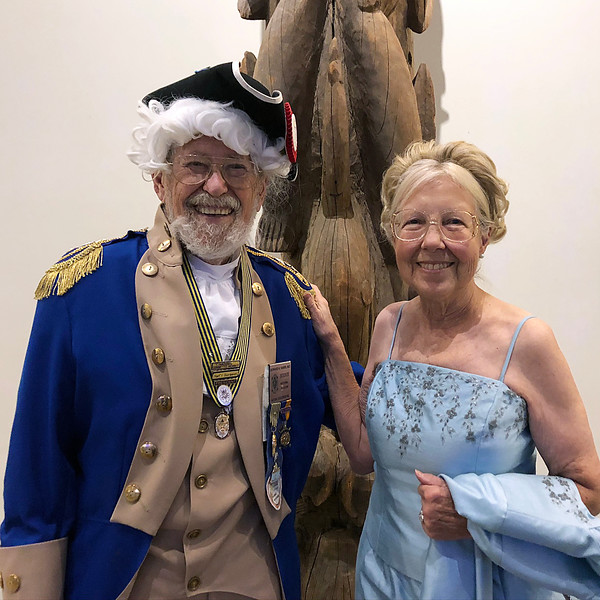 Bernie and Marie<br /> Night of High Adventure<br /> Bowers Museum, November 2, 2019
