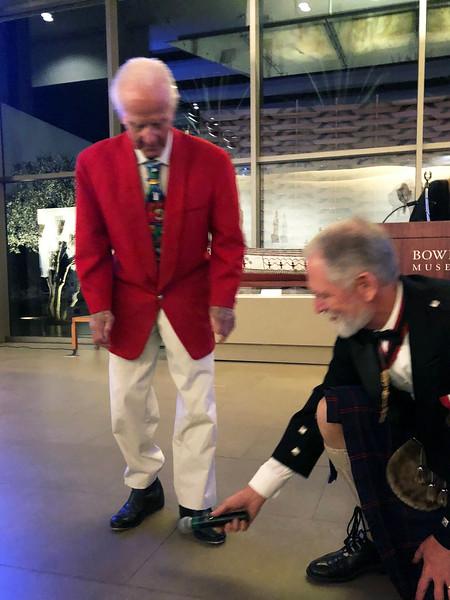 Sid Hallburn<br /> Night of High Adventure<br /> Bowers Museum, November 2, 2019