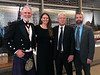 L-R: Michael Lawler, Meghan Heaney-Grier, David Hayen & Brian Castner<br /> Night of High Adventure<br /> Bowers Museum, November 2, 2019