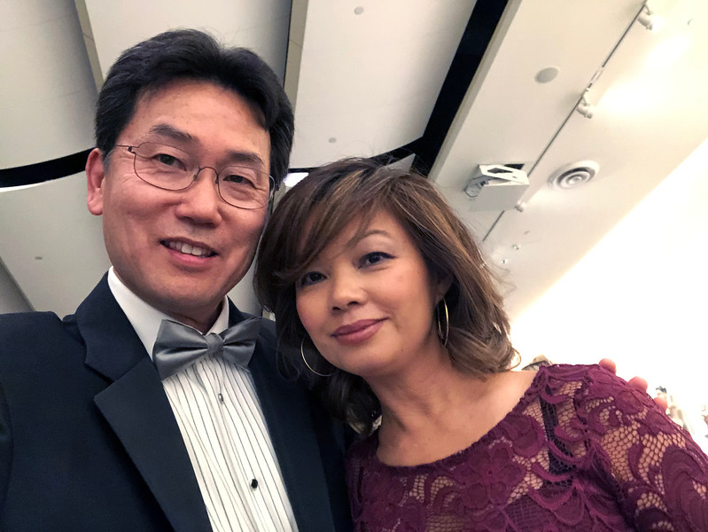 Kevin with Jaz<br /> Night of High Adventure<br /> Bowers Museum, November 2, 2019