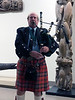 Andrew Scott, Scottish bagpiper<br /> Night of High Adventure<br /> Bowers Museum, November 2, 2019